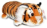 Terrence the Sleepy Tiger | 16 Inch Large Plush Pillow | Soft and Fluffy Cushion Stuffed Animal Pet | By VIAHART
