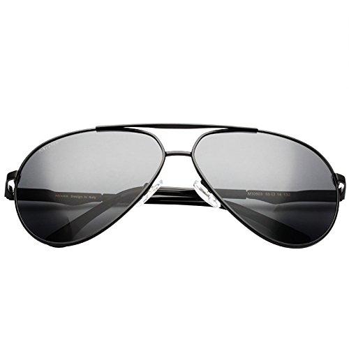 Decoración gun color Gafas Drive LLZTYJ De Metal San Sol De De Gafas Día Hombre Sol Hombre Gafas Gafas Regalo De Para Valentín Polarizer Polarizadas Para Garaje Sol x4RzwCqxF