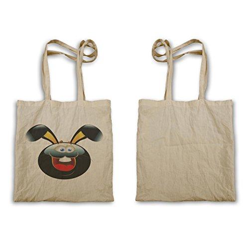 Smiley Happy Bunny Face Divertente Novità Tote Bag A497r