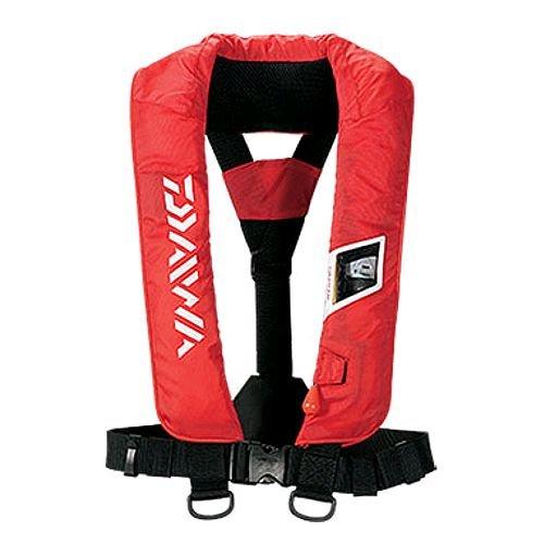 ダイワ(Daiwa) ウォッシャブルライフジャケット(肩掛けタイプ手動・自動膨張式) フリー レッド DF-2005の商品画像