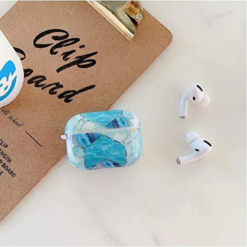 Hnzxy Hülle Kompatibel mit Apple AirPods Pro Marmor Hülle,AirPods Hülle,Marmor TPU Silikon Hülle Handyhülle Ultra Dünn…