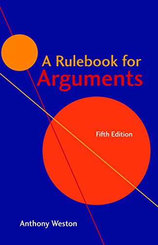 A Rulebook for Arguments (English Edition)