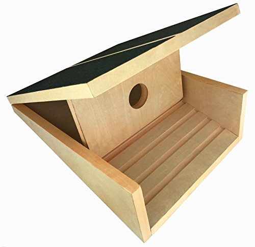 "Professional Wooden Slant Board, Adjustable Incline Calf Stretch Slantboard, 16"" x 12.5"", 5 Positions (350 LB Capacity)"