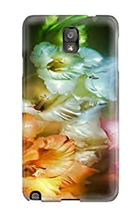 Hot QVxpagq6485jWGaE Protector For SamSung Note 2 Case Cover - Flower