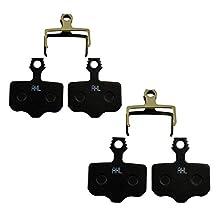 AHL Bicycle Semi-metallic Disc Brake Pads for Avid Elixir E1 E3 E5 E7 E9 R ER CR Mag VIA GT X7 X9 Sram XX World Cup X0 DB1 DB3 DB5