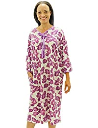 b4425de222 Womens Adaptive Hospital Gown Open Back Regular   Plus Sizes
