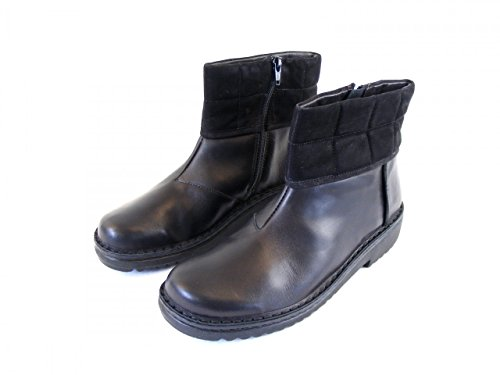 montantes 8944 liège cuir en kristin chaussures pour Naot noir wechselfußbett femme gqpn5