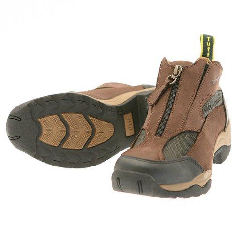 Tuffa Endurance - Zapatos de deporte de ecuestres, color marrón, talla 43