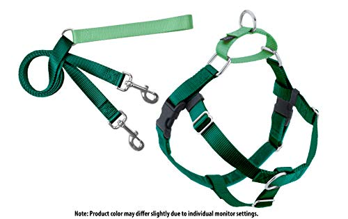 - 2 Hounds Design Freedom No-Pull Dog Harness and Leash, Adjustable Comfortable Control for Dog Walking, Made in USA (Medium 1