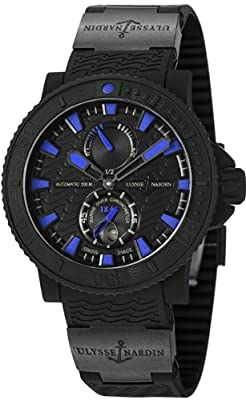 Ulysse Nardin Marine Diver Black Sea / Blue Sea Automatic COSC Watch - 263-92-3C/923