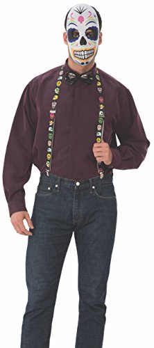 Rubie's Rubie's Deluxe Day Of The Dead Mens Costume Kit -