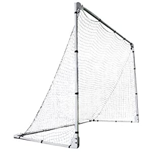 Lifetime 90046 Soccer Goal with Adjustable Height and Width, 7′ x 5′