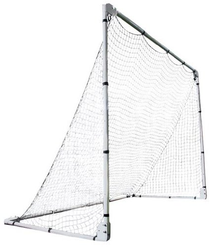 Lifetime 90046 Soccer Goal with Adjustable Height and Width, 7' x -
