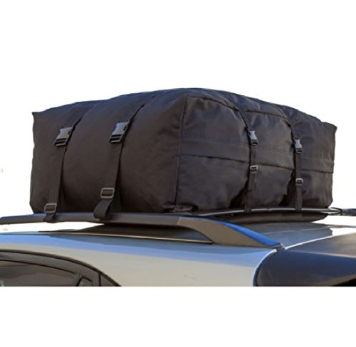 NEW Roof Top Cargo Rack Carrier Waterproof Luggage Travel 10 Cubic Feet of Storage For SUV AUTO