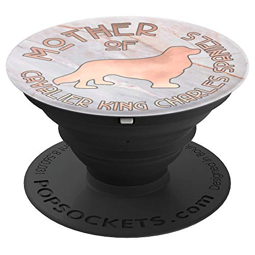 (Cavalier King Charles Spaniels Cute Dog Gift For Mom PACD348 - PopSockets Grip and Stand for Phones and Tablets)