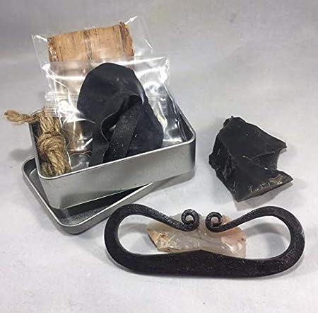 Amazon.com: Kit de herramientas de acero para chimenea MOAB ...