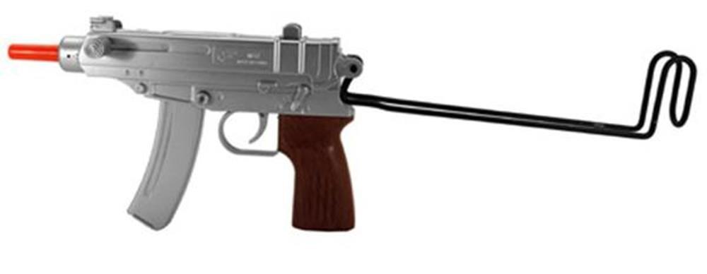 Pistola airsoft m37 spring - plata (pistola airsoft)
