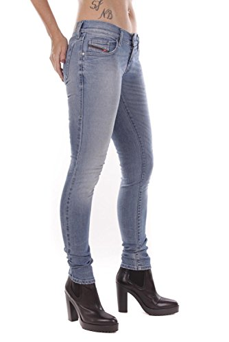 Jeans Femmes Bleu Diesel 0839Y Grupee qa7xBPz
