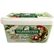 French Feta Cheese (Valbreso) 400g plastic tub (2 pack)