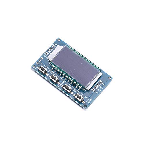 DEVMO Signal Generator PWM Pulse Frequency Duty Cycle Adjustable Module LCD Display Compatible with Arduino Raspberry Pi