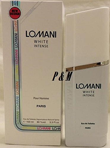 Lomani Citrus Cologne - LOMANI WHITE INTENSE POUR HOMME BY LOMANI COLOGNE FOR MEN 3.3 OZ / 100 ML EAU DE TOILETTE SPRAY
