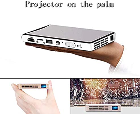 Proyector HD Pico, Proyector LED portátil Smart WiFi inalámbrico ...
