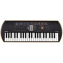 Casio SA-76 44 Key Mini Keyboard, Orange