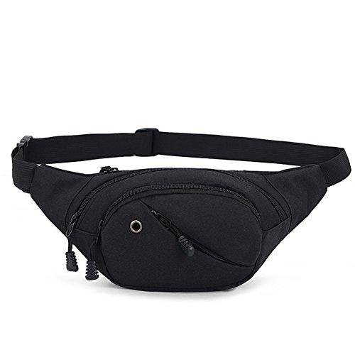 Yamalans Waist Bag Fanny Packs,Sport Casual Nylon Waterproof
