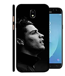 ColorKing Football Ronaldo Portugal 01 Black shell case cover for Samsung J7 Pro 2017