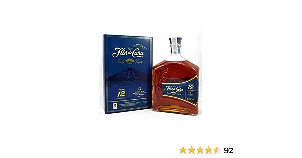 Flor de Cana Centenario Legacy Edition - Ron en caja de regalo, 1000 ml