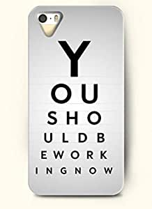 YOU SHOULD BE WORKING NOW-iPhone 4/4s/4g back plastic case