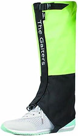 ユニセックス防水ブーツゲイターハイキングゲイタークライミングレッグゲイター