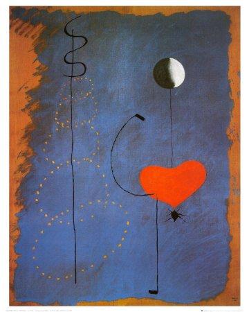 Kunstdruck \'Ballerina II, ca.1925\', von Joan Miró, Größe: 40 x 50 cm ...