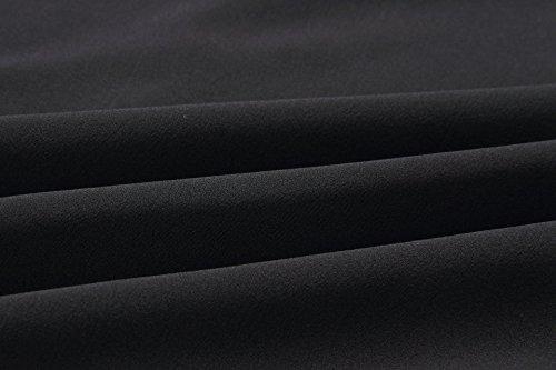 Chemises Femmes Shirts Casual Manches Printemps Jeune Tee Bouton Chemisiers Longues Fashion Fashion Noir Automne Irregulier Simple et Tops Hauts Blouse 1x67aqwnI