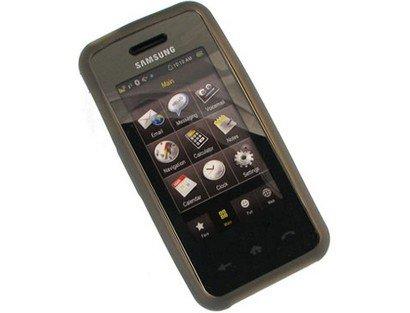 Smoke Silicone Protective Cover Case For Samsung Instinct M800 M800 Cover Case