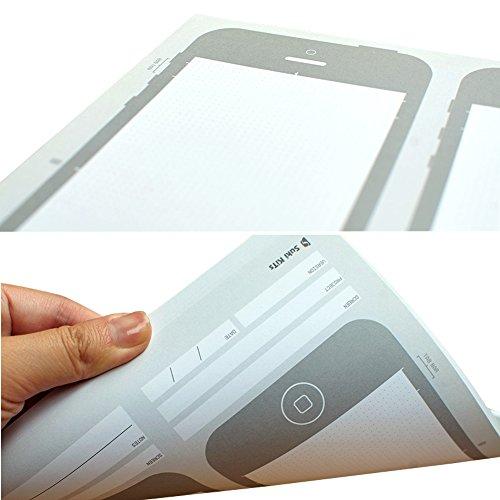 OLizee Creative iPhone 6 Sketch Pad Stencil Kit for App Design UI Design by OLizee (Image #1)