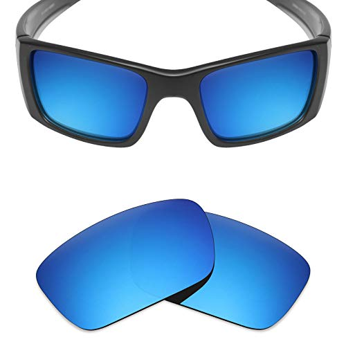(Mryok UV400 Replacement Lenses for Oakley Fuel Cell - Ice Blue)
