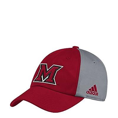adidas Miami Ohio Redhawks Coaches Sideline Climalite Adjustable Hat
