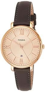 Fossil Women's ES3707 Jacqueline Analog Quartz Grey Watch