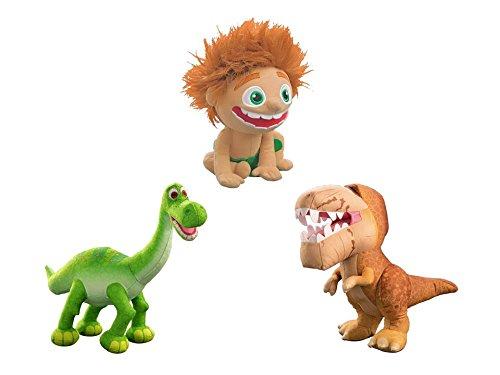 Tomy L62904 - Disney Pixar Der gute Dinosaurier - Funktionsplüsch rollierendes Sortiment