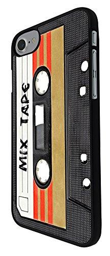 "001082 - Cool Fun Mix Tape Cassette Player Retro Music Dance Hip Hop RnB Boom Box Design iphone 7 4.7"" Hülle Fashion Trend Case Back Cover Metall und Kunststoff - Schwarz"