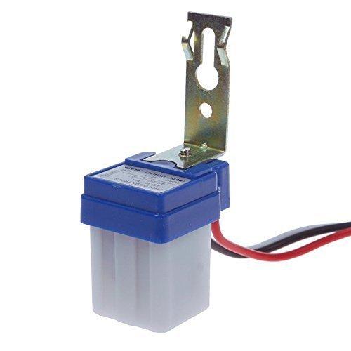 2 Pack AC DC 12V 10A Auto On Off Photocell Light Switch Photoswitch Light Sensor Switch