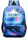 Custom fashion fortnite game night luminous backpack, school daypack backpack youth campus shoulder bag