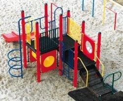 Sports Play 911-218B Marie Modular Playground (Modular Playground Equipment)