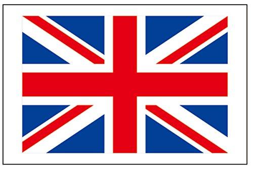 6 Large UK Great Britain Flag Tattoos, United Kingdom Party (Halloween Temporary Tattoos Uk)