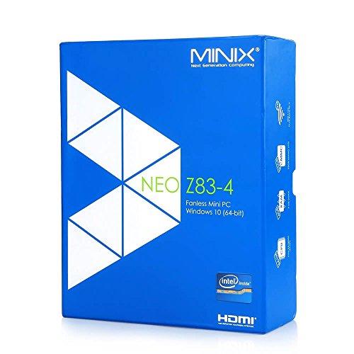 MINIX Neo Z83-4 Fanless Mini PC Desktop Intel Cherry Trail Windows 10 (64-bit) X5-Z8300 [4GB/32GB 2.4/5G Dual-Band Wi-Fi/ Gigabit Ethernet/ Mini DP + HDMI 1.4 Output/ 4K/ BT 4.2] by MINIX (Image #6)