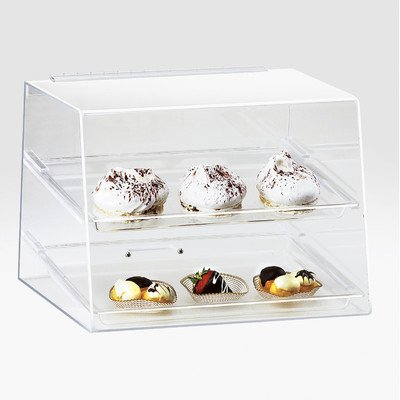 Cal-Mil 254 Classic Display Case, 15'' W x 13'' D x 11'' H, Clear