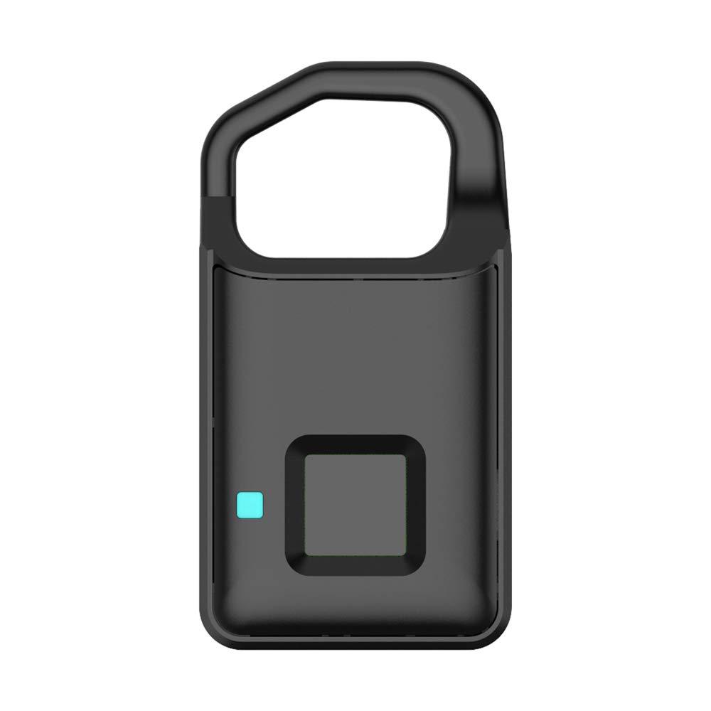 Sac /à Dos Bureau V/élo Festnight Cadenas Intelligent Dempreinte Digitale De La Lumi/ère LED Appropri/é /à La Porte De Maison Gymnase Valise Supporte Le Chargement USB