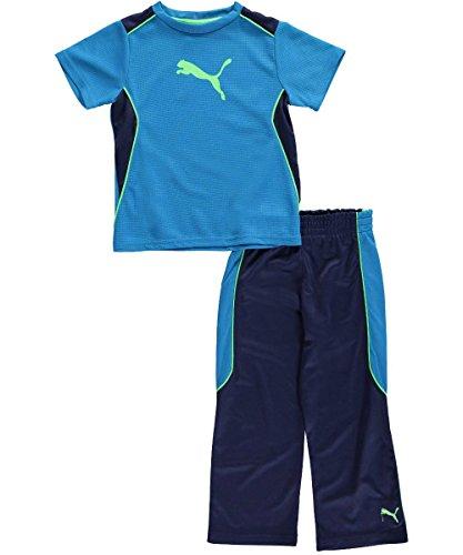 PUMA Little Boys' Angle Performance Set, Methyl Blue, 2T