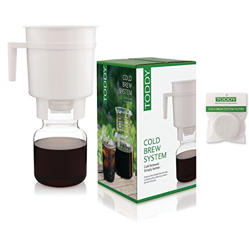 Toddy Cold Brew Coffee Maker With 2 Spare Filters